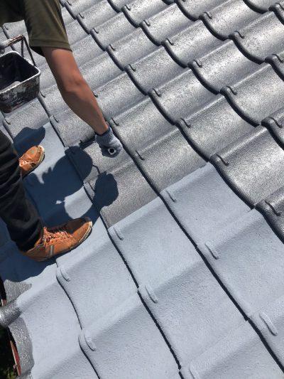 クリエイティブカラー株式会社_瓦屋根塗装